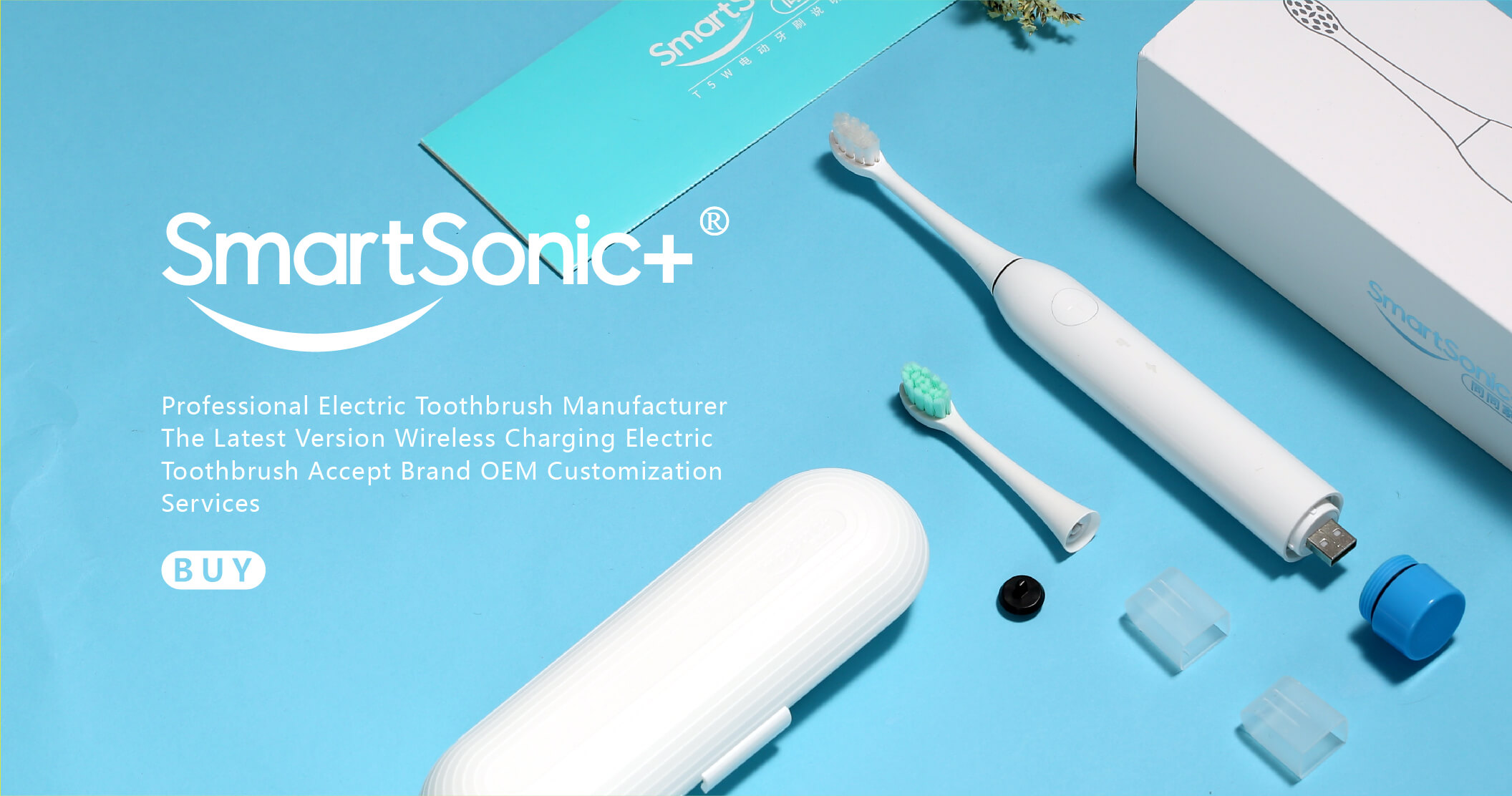 custom electric toothbrush